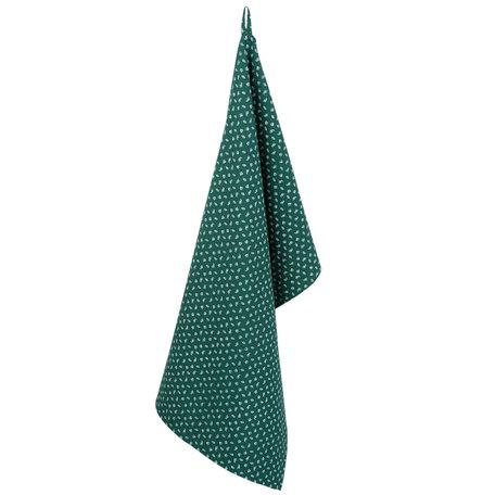 Keukendoek 50*85 cm Groen | WF42C | Clayre & Eef