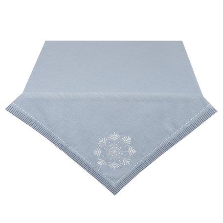 Tafelkleed 100*100 cm Grijs | WIW01 | Clayre & Eef