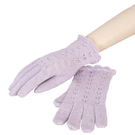 Handschoenen 8*20 cm Paars | HA0010A | Clayre & Eef