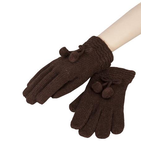 Handschoenen 8*22 cm Bruin | HA0011CH | Clayre & Eef
