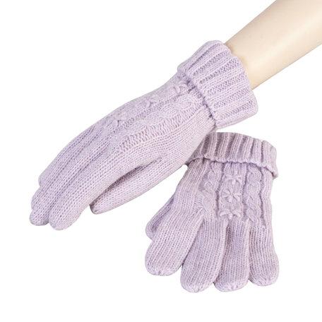 Handschoenen 8*23 cm Paars | HA0017P | Clayre & Eef