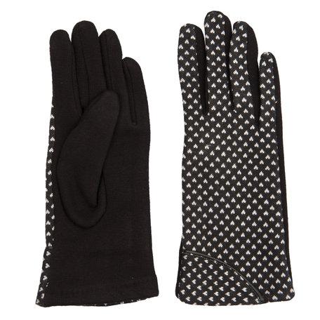 Handschoenen 8.5*24 cm Zwart | JZGL0016Z | Clayre & Eef