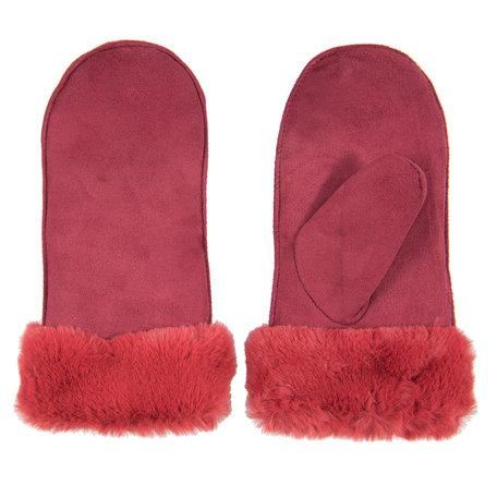 Handschoenen 8*24 cm Rood | JZGL0029A | Clayre & Eef