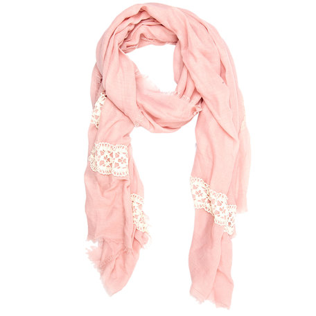 Sjaal 70*180 cm Rood | JZSC0160R | Clayre & Eef