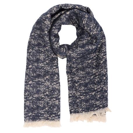 Sjaal 65*185 cm Blauw | JZSC0226BL | Clayre & Eef