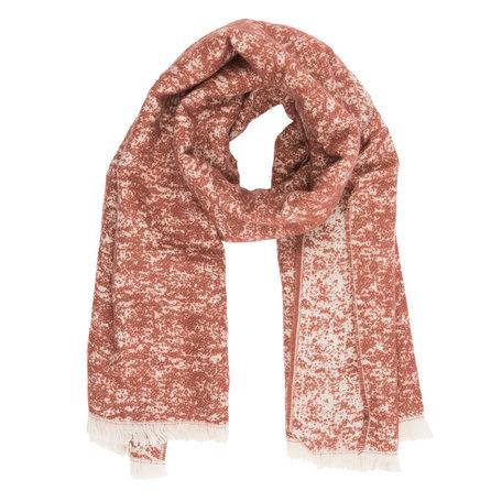 Sjaal 65*185 cm Rood | JZSC0226R | Clayre & Eef