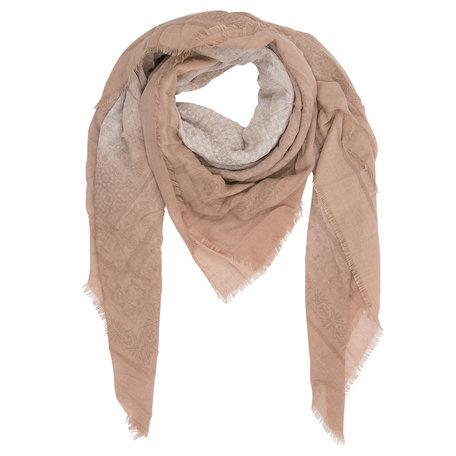 Sjaal 140*140 cm Beige | JZSC0230BE | Clayre & Eef