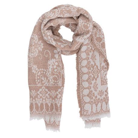 Sjaal 65*180 cm Roze | JZSC0242P | Clayre & Eef