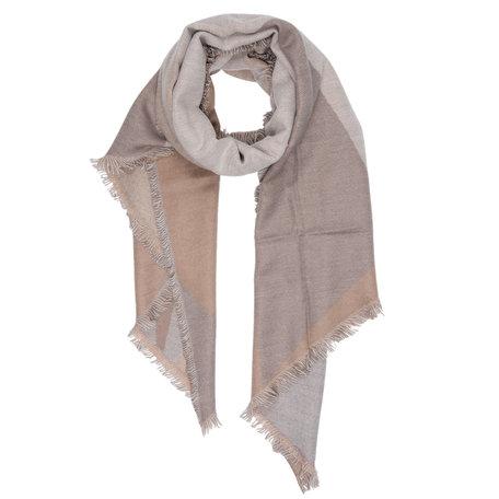 Sjaal 65*180 cm Grijs | JZSC0254G | Clayre & Eef
