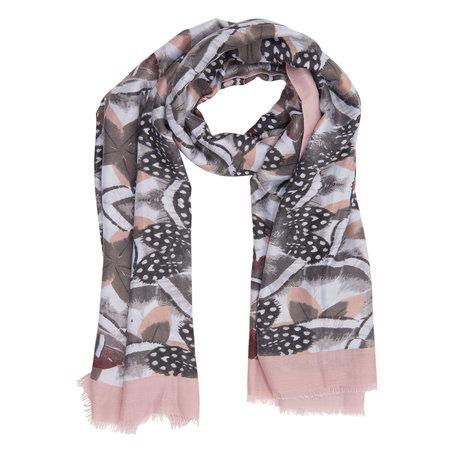 Sjaal 90*180 cm Roze | JZSC0255P | Clayre & Eef