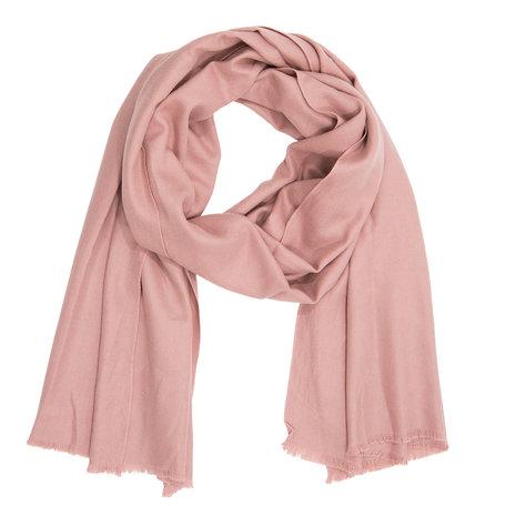 Sjaal 90*180 cm Roze | JZSC0257P | Clayre & Eef