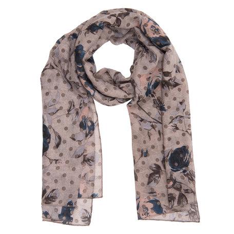 Sjaal 90*180 cm Beige | JZSC0258KH | Clayre & Eef