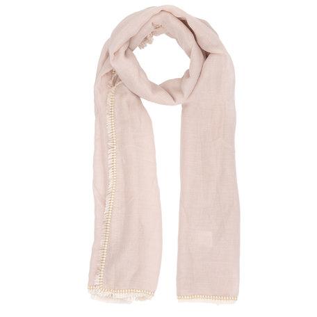 Sjaal 70*180 cm Beige | JZSC0292BE | Clayre & Eef