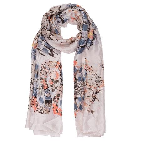 Sjaal 90*180 cm Beige | JZSC0308BE | Clayre & Eef