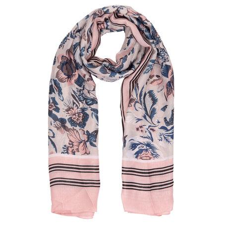 Sjaal 90*180 cm Roze | JZSC0311P | Clayre & Eef