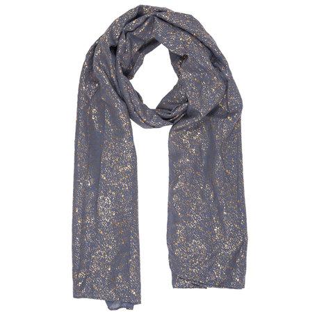 Sjaal 70*180 cm Blauw | JZSC0315BL | Clayre & Eef