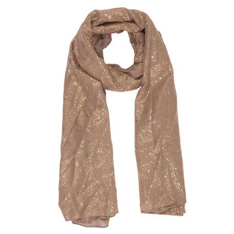 Sjaal 70*180 cm Bruin | JZSC0315CH | Clayre & Eef