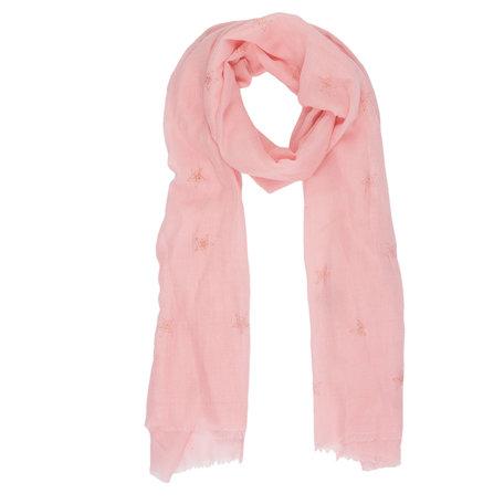 Sjaal 70*180 cm Roze | JZSC0343P | Clayre & Eef