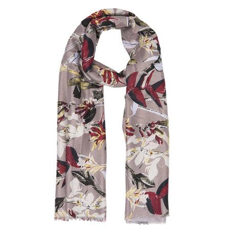 Sjaal 80*180 cm Beige | JZSC0353KH | Clayre & Eef