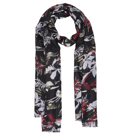 Sjaal 80*180 cm Zwart | JZSC0353Z | Clayre & Eef