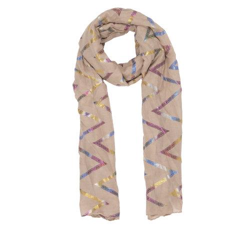 Sjaal 70*180 cm Beige | JZSC0359BE | Clayre & Eef