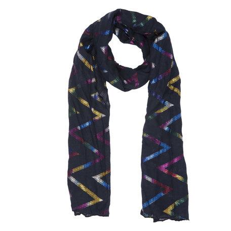 Sjaal 70*180 cm Blauw | JZSC0359BL | Clayre & Eef