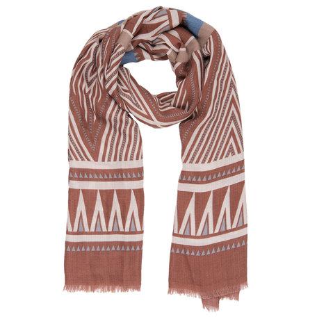 Sjaal 90*180 cm Oranje | JZSC0385O | Clayre & Eef
