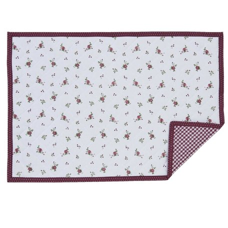 Placemat (6) 48*33 cm Rood | RPL40 | Clayre & Eef
