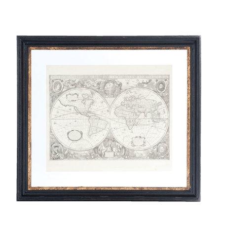 Schilderij 55*4*50 cm Zwart   50234   Clayre & Eef