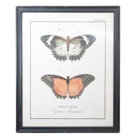 Schilderij 65*2*80 cm Zwart | 50237 | Clayre & Eef