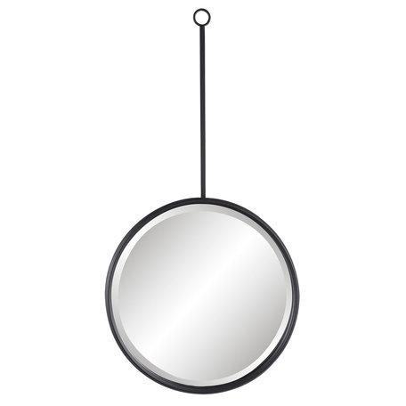 Spiegel 40*3*77 cm Zwart   52S129   Clayre & Eef