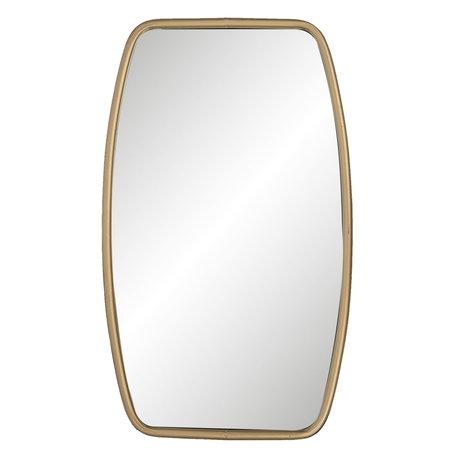 Spiegel 35*3*60 cm Goudkleurig   52S139   Clayre & Eef