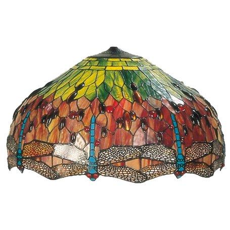 Lampenkap Tiffany ø 60 cm Bruin | 5LL-1120 | Clayre & Eef