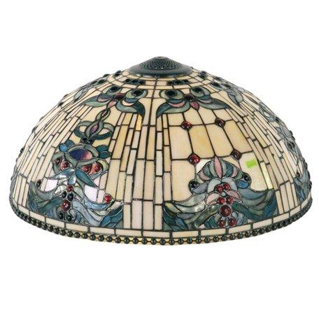Lampenkap Tiffany ø 50 cm Meerkleurig | 5LL-5424 | Clayre & Eef
