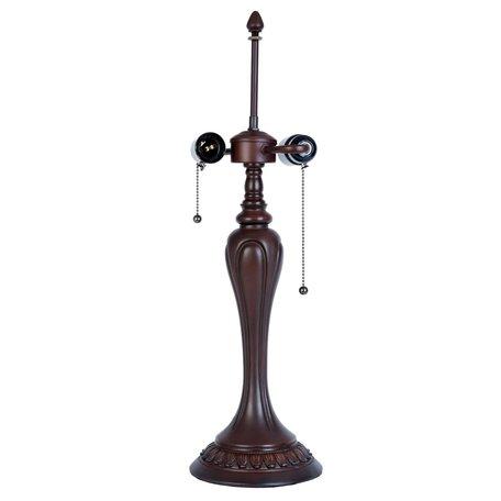 Lampenvoet ø 17*60 cm E27/max 2*40W Bruin | 5LL-5795 | Clayre & Eef