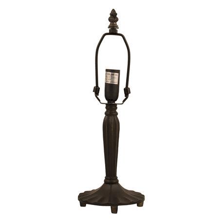 Lampenvoet ø 12*36 cm E14/max 1*40W Bruin | 5LL-5948 | Clayre & Eef