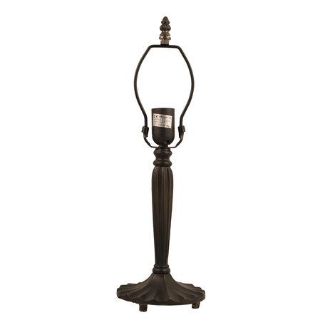 Lampenvoet 46 cm E27/max 1*60W Bruin | 5LL-5949 | Clayre & Eef