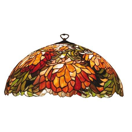 Lampenkap Tiffany ø 50*24 cm Meerkleurig | 5LL-9131 | Clayre & Eef