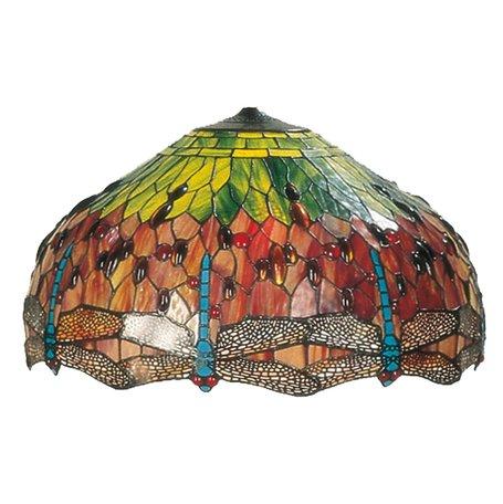 Lampenkap Tiffany ø 51*29 cm Meerkleurig | 5LL-9200 | Clayre & Eef