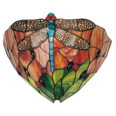 Wandlamp Tiffany 30*15*20 cm E14/max 1*40W Multi | 5LL-9312 | Clayre & Eef