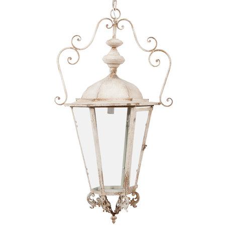 Hanglamp 54*44*95 cm E14/max 1*25W Wit | 5LMP220 | Clayre & Eef
