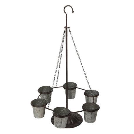 Planthouder 56*50*90 cm Grijs | 5Y0436 | Clayre & Eef