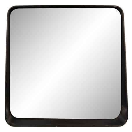 Spiegel 53*10*51 cm Zwart   62S138   Clayre & Eef