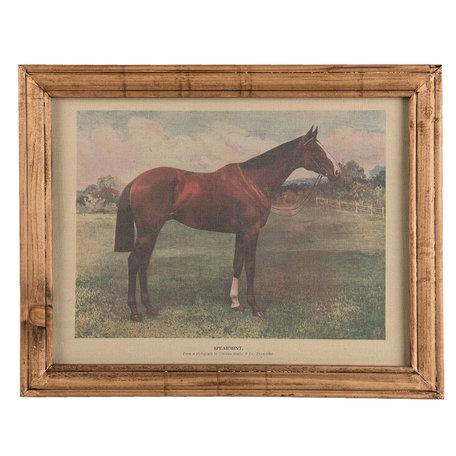 Schilderij 46*2*36 cm Bruin | 63868 | Clayre & Eef