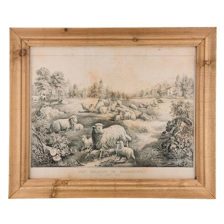 Schilderij 60*2*50 cm Bruin | 6H1601 | Clayre & Eef