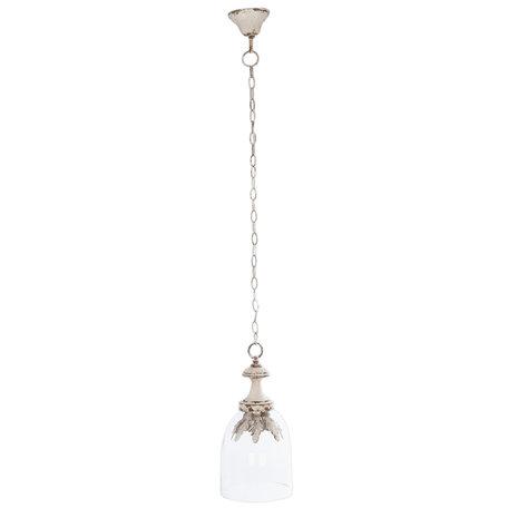 Hanglamp ø 21*126 cm E14/max 1*25W Transparant | 6LMP404 | Clayre & Eef