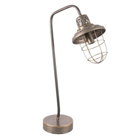 Tafellamp 36*15*60 cm E14/max 1*40W Goudkleurig | 6LMP528 | Clayre & Eef
