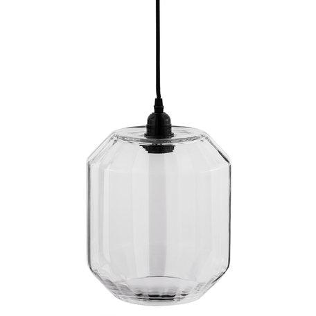 Hanglamp ø 22*30 cm / E27/max 1*40W Transparant | 6LMP535 | Clayre & Eef