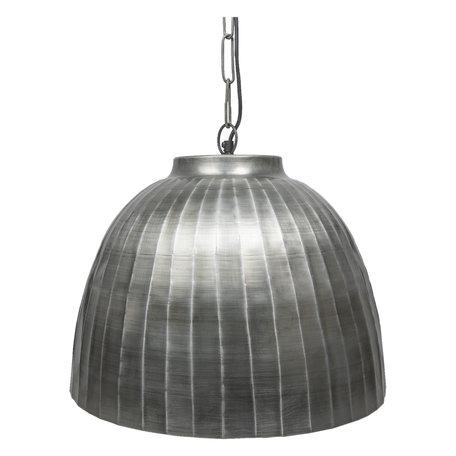 Hanglamp ø 45*42 cm Zilverkleurig | 6LMP564ZI | Clayre & Eef