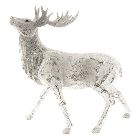 Decoratie rendier 31*13*31 cm Bruin | 6PR2303 | Clayre & Eef